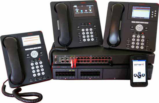 Avaya IP Office IP500v2 with Avaya ERS switch and IP phones